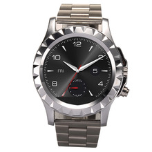 2015 Hot Circular Watch Waterproof and Dustproof Watch Phone A8 with Circular Stainless Steel Nano Toughened Glass Screen