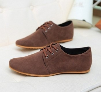 WS59 Hot Sale Spring Autumn Fashion Men Shoes Mens Flats Casual Suede Shoes Comfortable Breathable Flats Driving Loafers