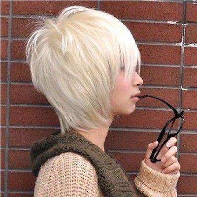 online kaufen gro handel platin blonde kurzes haar aus china platin blonde kurzes haar. Black Bedroom Furniture Sets. Home Design Ideas