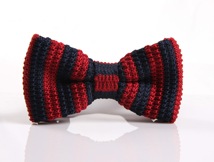 Men Neck Ties Tuxedo Knitted Bowtie Custom Lable Bow Tie 60 Color Pre-Tied Adjustable Boy tie opp bag packing T35(China (Mainland))