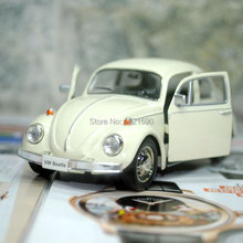Brand New UNI 1/32 Scale Car Model Toys Germany 1967 Volkswagen Beetle Diecast Metal Pull Back Car Toy For Gift/Collection/Kids(China (Mainland))