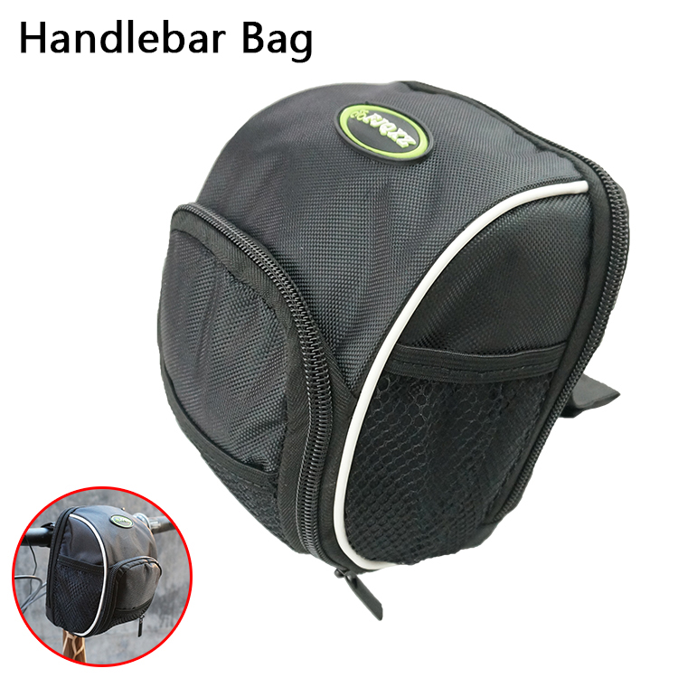 2016 Cycling Bike Bicycle Handlebar Bag Front Basket Black With Rain Cover Top frame Waterproof Toolkit free shipping Front pack(China (Mainland))