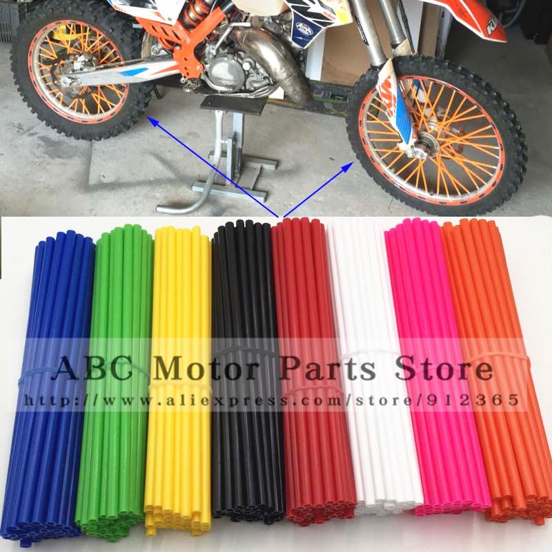 For kawasaki kx 250 Motocross Dirt Bike Enduro Wheel RIM SPOKE SKINS COVERS YAMAHA 450 WR250 KTM150 EXC450 250 CRF Kayo(China (Mainland))