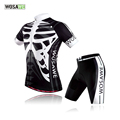 WOSAWE Summer Cycling jerseys shorts set 3D gel pad Quick Dry maillot ciclismo Cycling Clothing