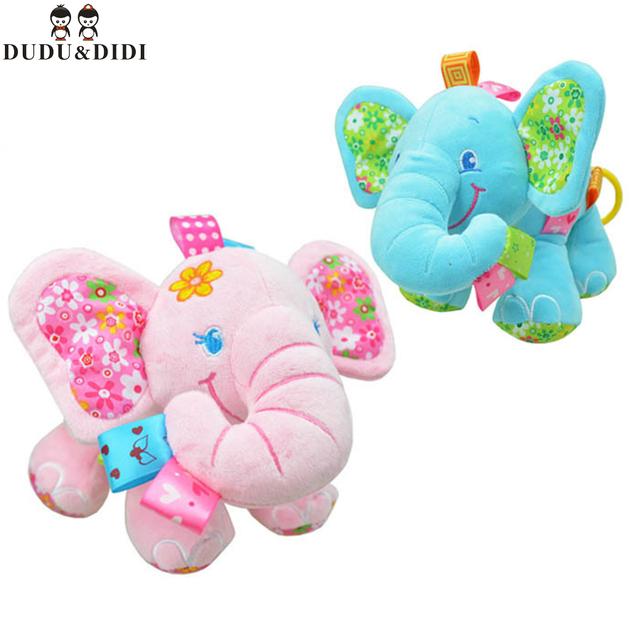Sozzy многофункциональный слон тянуть две машины висит кровать висит успокоить игрушки WJ175-WJ176