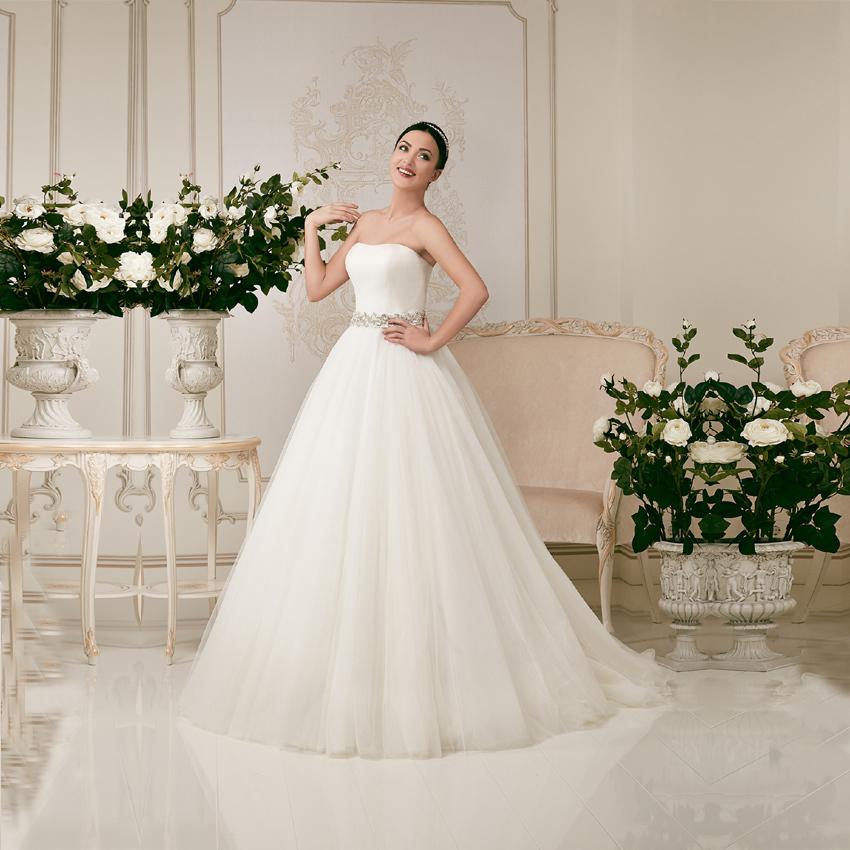 Vestido de noiva 2015 sexy ball gown wedding dress for Big tulle ball gown wedding dress