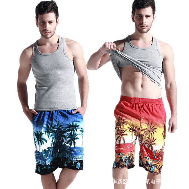 Board shorts Mens Swimwear lined Beach Shorts Male mesh Bathing Suit Men Summer Boardshorts R unning S port Shorts