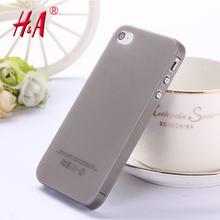 0.3มิลลิเมตรอัลตร้าบางmatteครอบคลุมกรณีผิวสำหรับiPhone 4 4S โปร่งแสงบางพลาสติกอ่อนจัดส่งฟรีโทรศัพท์มือถือโทรศัพท์กรณี