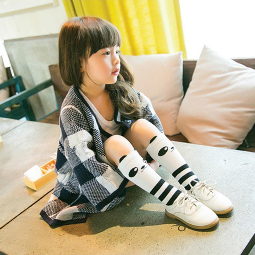 Toddler Baby Socks New Cartoon Design Knee High Socks Kid Girl Boy Autumn Winter Leg Warmers Children Socks Knee Pad Cute