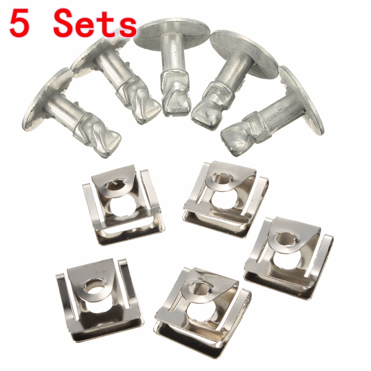 Brand New Under Engine Gearbox Cover Screws & Clips Set for Skoda Superb I /VW /Passat B5 /Audi A4 A6 Models(China (Mainland))
