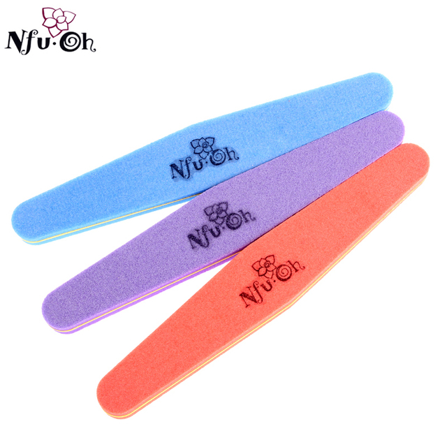5pcs/lot Nail Art Care Manicure Tool Buffer Files 6Grits uv gel polish nail art, free shipping