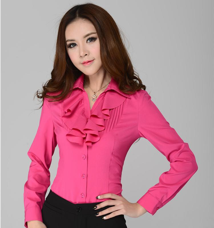 Formal blouses for ladies fashion ql for Ladies shirts and tops blouses