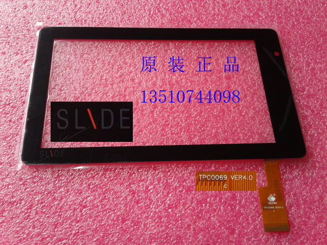 """Factory direct wholesale TPC0069 VER4.0 173 105 mm 7"""" inch capacitive touch screen digitizer glass for tablet pc mid repair(China (Mainland))"""