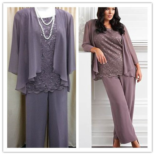 Online Get Cheap Plus Size Dresses Mother of The Groom Pant Suits ...