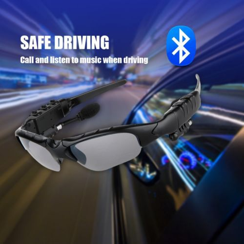 2015 New Arrival Sunglasses Wireless Bluetooth talk function Stereo Headset headphone Sun Glasses Micphone Sunglasses Earphone(China (Mainland))