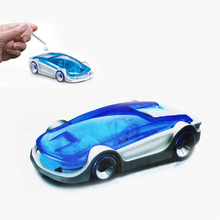 New DIY Kits Salt Water Fuel Cell Car Green Energy Assembled Toys For Kids Children Creative Children Education Toy Vehicles(China (Mainland))