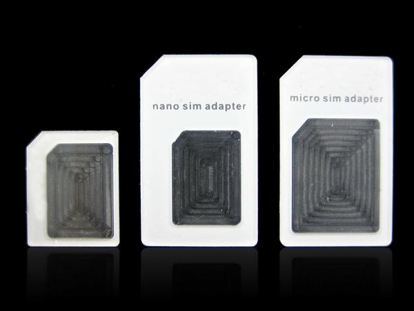 4 in1 noosy Dual Sim Card Adapter For iPhone 6 5 Samsung Nano SIM card adapter to Micro Standard Sim Card Adapter Eject Pin Key(China (Mainland))