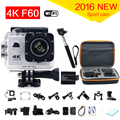gopro hero 4 style Action Camera 4K F60 WiFi 15fps go pro Sport camera extreme Diving