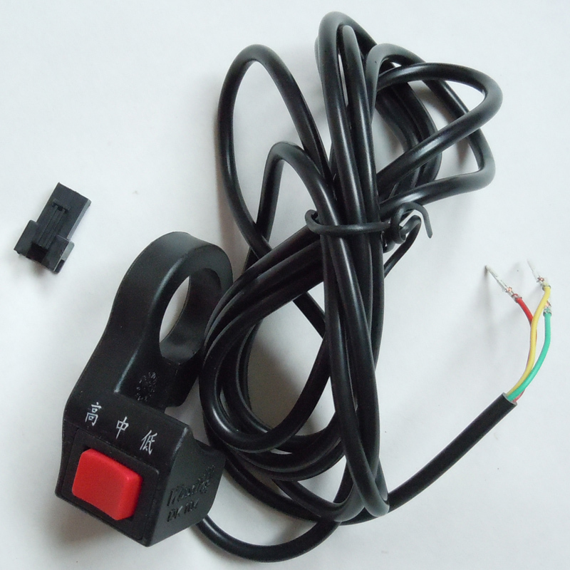 ebike three speed switch 3 wires/electric bicycle G-L071 - Suzhou SND Zhenlong Motor Co. Ltd store