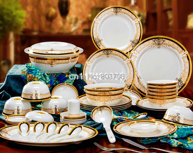 wholesale bone china dinner set 56pcs 15pcs ceramic dinner set china