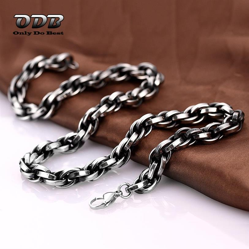Link Chain Steam Punk Hip Hop Vintage Antique Silver Cheap Fashion Jewelry Necklace & Pendant for Men & Women MYN065(China (Mainland))