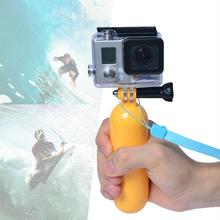 2015 PP Material Floating Mount Bobber Handheld Monopod Stick Floaty Grib w/ Wrist Strap for GoPro Hero 4/3+3 2 SJ4000/SJ5000