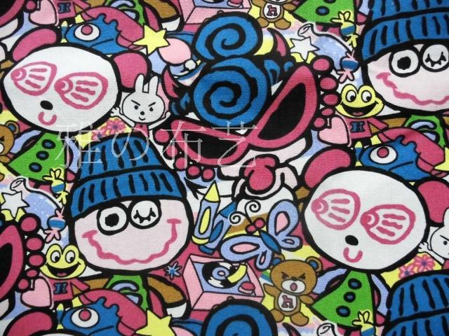 90*145cm Japan cartoon hysteric mini patchwork Canvas fabric for Tissue Kids Bedding home textile school bag for Sewing(China (Mainland))