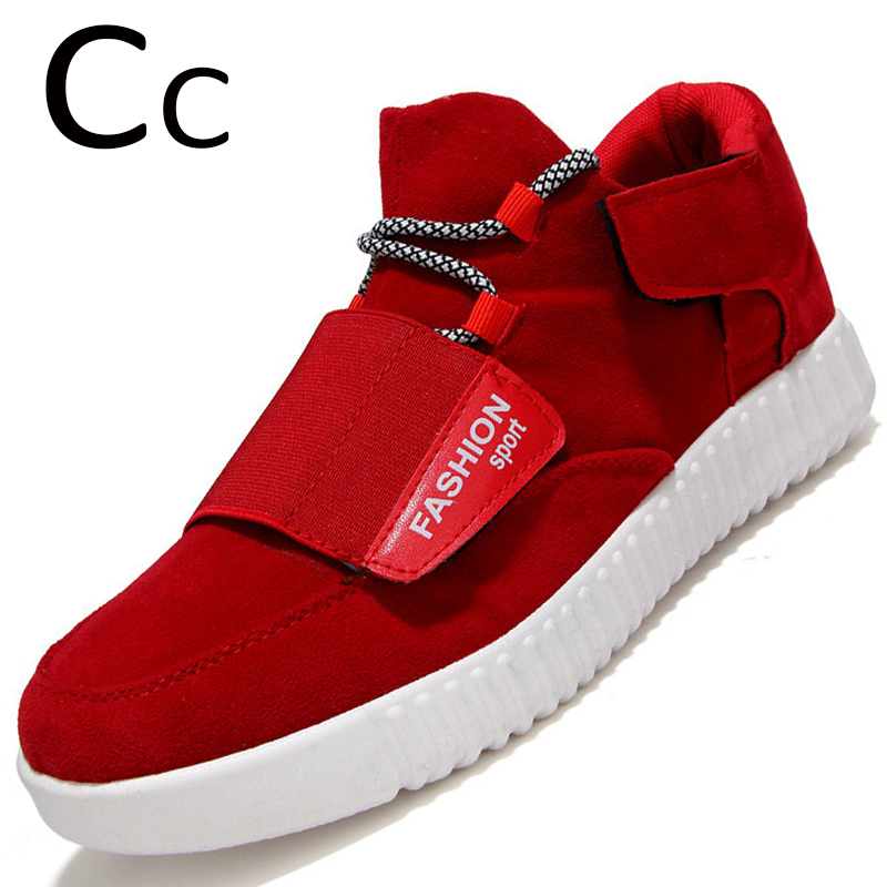 Cc 2015 New Fashion Flats Men Trainers Suede Leather Shoes Men Shoes Flats Low Oxford Shoes Yeezy Classic Chaussure Hommer(China (Mainland))