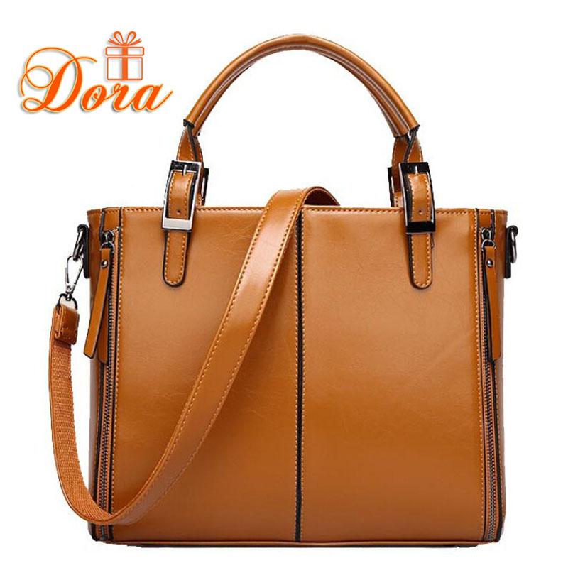 Women messenger bags crossbody bags for women shoulder bags handbags women famous brands briefcase leather handbag high quality(China (Mainland))