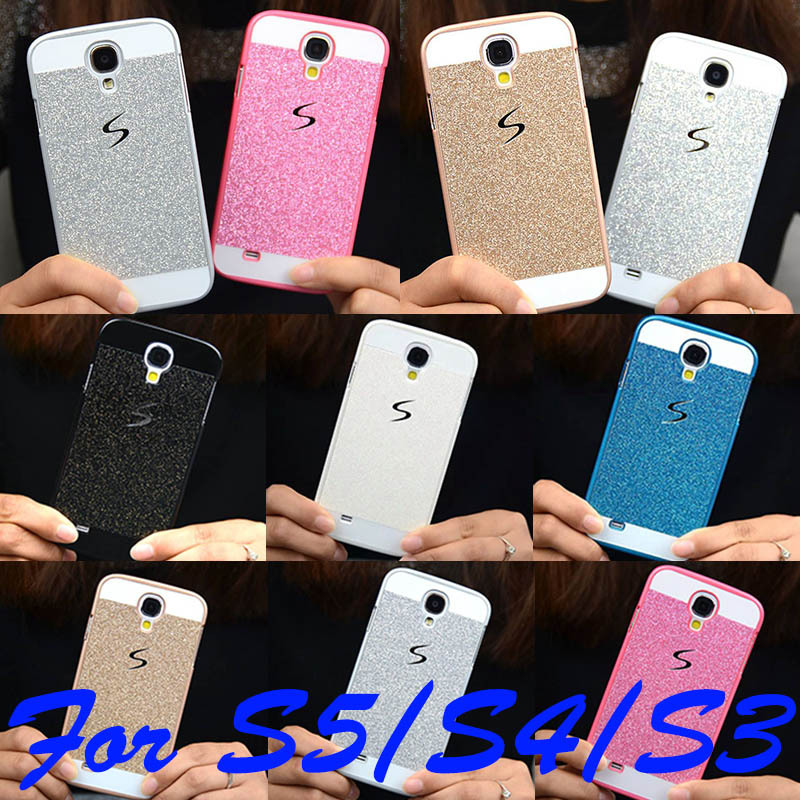 2015 Hot Bling Phone Case Shinning Luxury Cover for Samsung Galaxy S5 S4 S3 back cover Sparkling case for Galaxy S5 G900(China (Mainland))