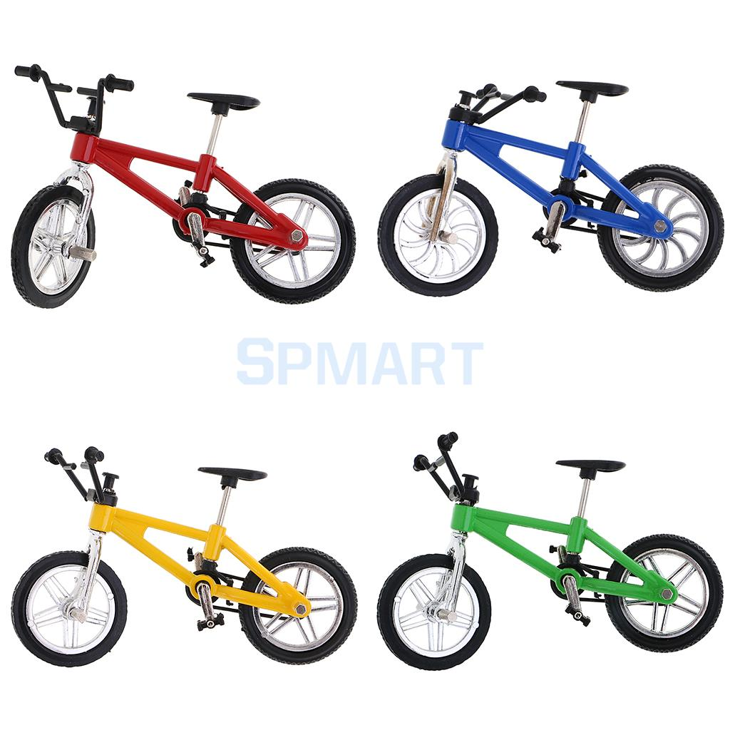 MagiDeal Alloy Mountain Bike Model Mini Finger Bike Bicycle Cool Boy Children Toy Christmas Gift Home Office Desk Decoration