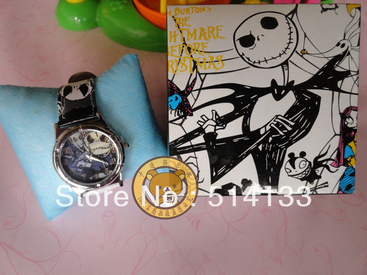 New The Nightmare Before Christmas 10PCS Watches With Boxes free shipping<br><br>Aliexpress