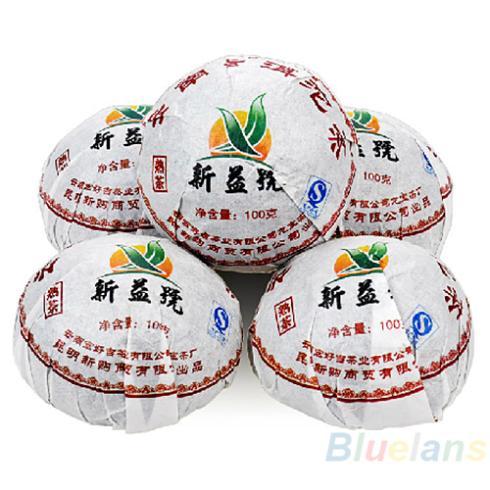 Xin Yi Hao Menghai Tuo Cha Puer Tea 100g Ripe 028A 3Z2S