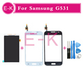 100 Original LCD Display Touch Screen Digitizer Glass Panel Free Tools For Sumsung Galaxy G531 Free