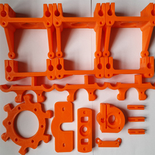 3D printer Reprap Rostock Mini Pro DIY non-standard plastic fittings promotions in cheap shipping