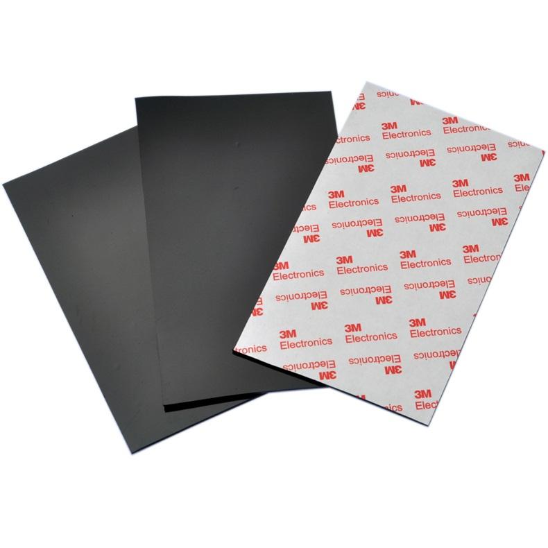 10cm 16cm Anti Slip Silicone Rubber Plastic Pads 3m Self