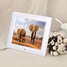 Top Quality 7″ HD TFT-LCD Digital Photo Frame with Alarm Clock Slideshow MP3/MP4 Player USB Remote Control Multi-language S17
