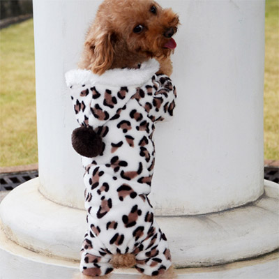 harness clothing dogs clothes produtos para pet puppy coat shop winter warm brown leopard big dog sweater wear clothes cachorro(China (Mainland))