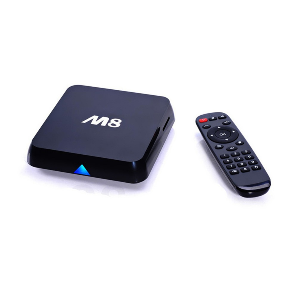 New M8 Amlogic S802 Android TV Box iptv Quad 2G/8G Mali450 XBMC GPU 4K HDMI 2.4G/5G Dual WiFi Mini PC With Remote Controller(China (Mainland))