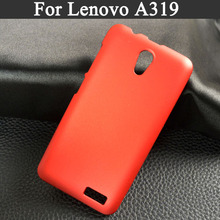 For Lenovo A319 Fashion 6 patterns Rubber Frosted Hard PC Cover Cases For Lenovo A319 A 319 Back Cover Phone Bags