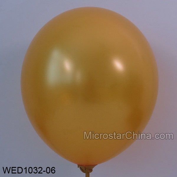 Free Shipping 50pcs/lot  3.2g/pc 12inch Thickening Latex Helium Pearl Wedding Birthday Party Balloon Gold color  baloon(China (Mainland))
