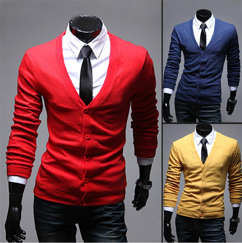 Free Shipping, 2014 New Autumn Fashion Crime Brand Knitting Cardigan Sweater Men Cardigan Sweater Leisure Men v-neck Sweater Men(China (Mainland))