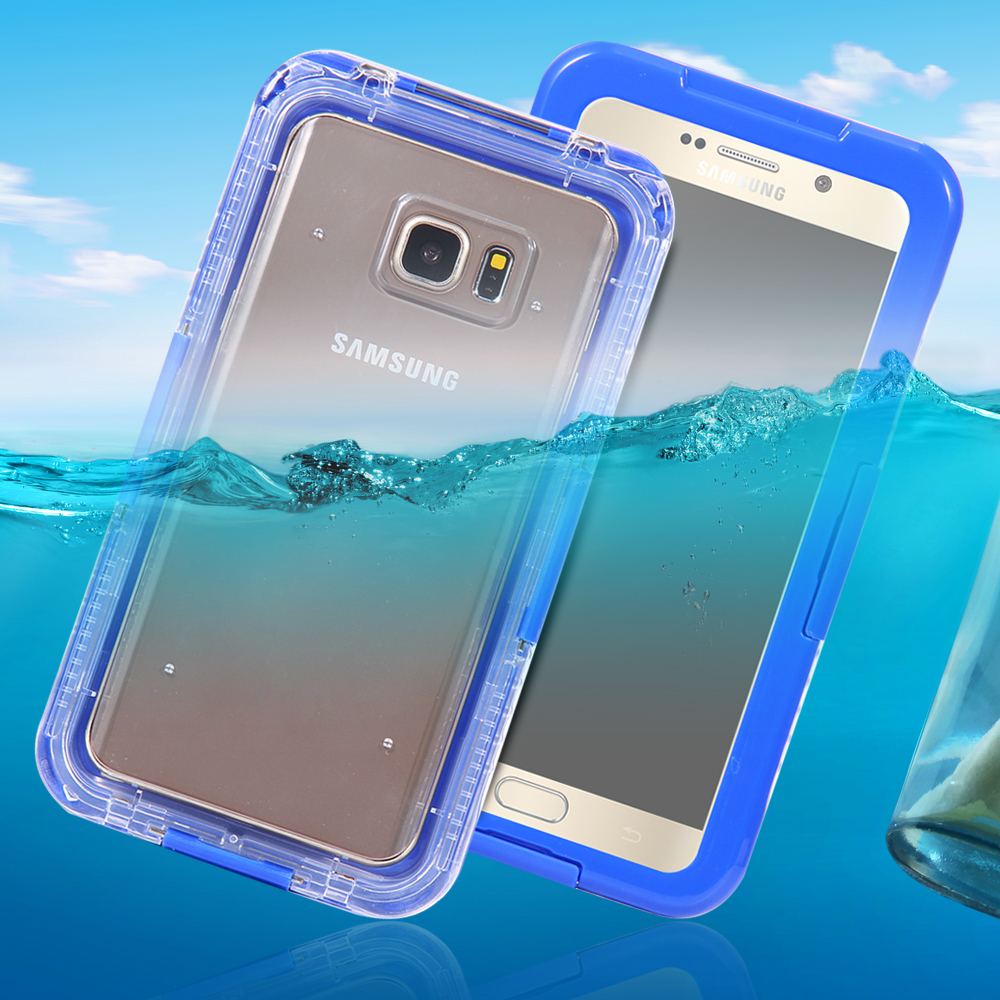 IP-68 Underwater Clear Water/Dirt/Shock Proof Swimming Dive Case For Samsung Galaxy S6 / S6 Edge G9250 S6 Edge Plus G928 Cover