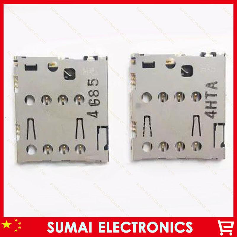 100pcs SIM card reader socket holder slot connector for ASUS ZENFONE5 ZENFONE6