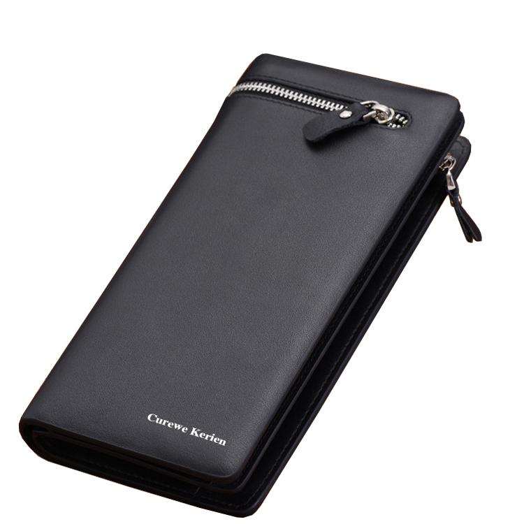 High Quality Mimco Mens Long Zipper Wallet Carteira Masculina Leather Men Wallets Business Brand Card Holder Coin Purse Wallet<br><br>Aliexpress