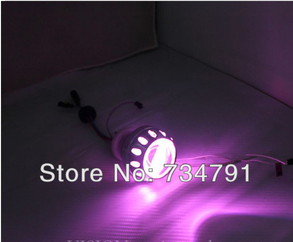 35W 2.5 Inches Xenon Projector Lens Led Bulb H1 Light Using Lamp Bi Headlight 9005 Headlights Motocycel Lights - guangzhoug joemy auto lights store