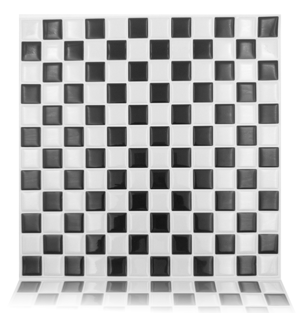 Peel and stick wall tiles 10 x10 wood adhesive backsplash for Peel and stick wallpaper squares