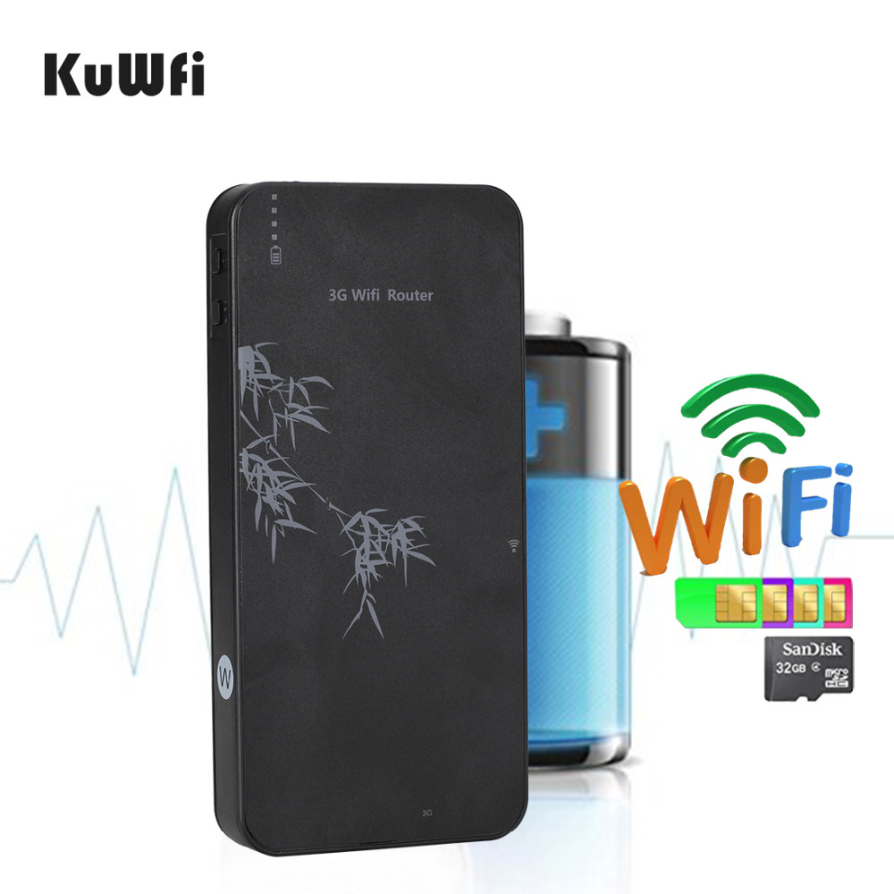 Portable 3G wifi router 10000mAh power bank router 3G wifi hotspot support WCDMA/EVDO with sim card slot 3G router(China (Mainland))