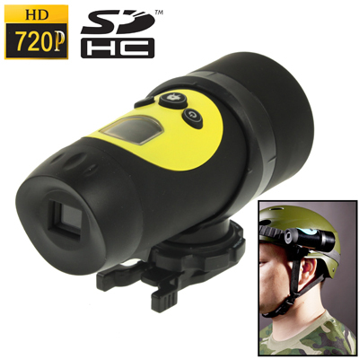 Hot Sale AT18A HD 720P Waterproof Sport Helmet Action Camera DVR Support SD Card  AVI Video Format Free Shipping<br><br>Aliexpress