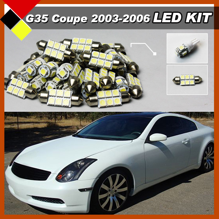 high quality auto interior lights white vehicle led kit package 12v easy insulation for 2003. Black Bedroom Furniture Sets. Home Design Ideas